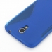 Samsung Galaxy Mega 6.3 Soft Case (Blue S Shape pattern) protective carrying case by PDair
