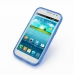 Samsung Galaxy Win Duos Soft Case (Blue S Shape pattern) top quality leather case by PDair
