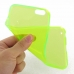 iPhone 6 6s Plus Transparent Soft Gel Case (Yellow) genuine leather case by PDair