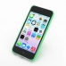 iPhone 5c 0.6mm Ultra thin Plastic Cover (Green) top quality leather case by PDair