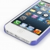 iPhone 5 5s 0.6mm Ultra thin Plastic Cover (Purple) handmade leather case by PDair