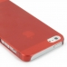 iPhone 5 5s 0.6mm Ultra thin Plastic Cover (Red) protective carrying case by PDair