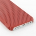 iPhone 5 5s Plastic Hard Case (Red Perforated Pattern) protective carrying case by PDair