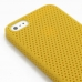 iPhone 5 5s Plastic Hard Case (Yellow Perforated Pattern) protective carrying case by PDair