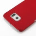 Samsung Galaxy S6 Rubberized Hard Cover (Red) protective carrying case by PDair