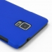 Samsung Galaxy Note 4 Rubberized Hard Cover (Blue) protective carrying case by PDair