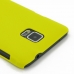 Samsung Galaxy Note 4 Rubberized Hard Cover (Yellow) protective carrying case by PDair