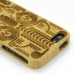 iPhone 5 5s Bamboo Protective Case (Symmetrical Pattern) protective carrying case by PDair