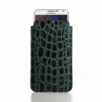 10% OFF + FREE SHIPPING, Buy Best PDair Quality Handmade Protective Samsung Galaxy Note 3 Leather Sleeve Case (Green Croc Pattern). You also can go to the customizer to create your own stylish leather case if looking for additional colors, patterns and ty