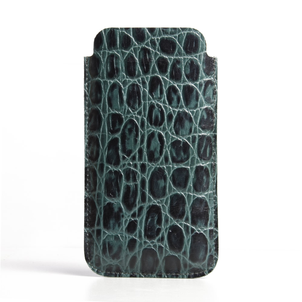 10% OFF + FREE SHIPPING, Buy Best PDair Quality Handmade Protective iPhone 6 | iPhone 6s Genuine Leather Sleeve Case (Green Croc Pattern). Pouch Sleeve Wallet You also can go to the customizer to create your own stylish leather case if looking for additio