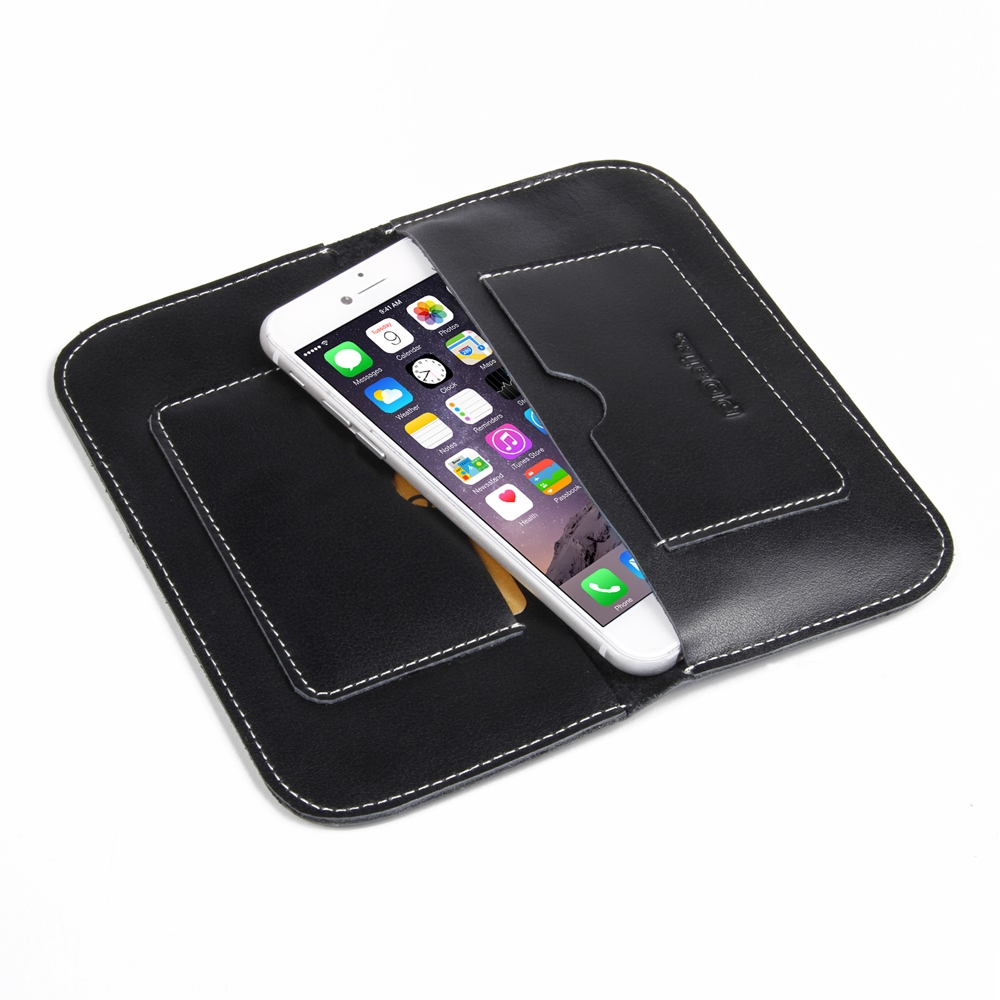 iPhone 6 6s Leather Sleeve Wallet PDair Premium Hadmade Genuine Leather Protective Case Sleeve Wallet