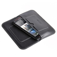 Simple Leather Wallet Case for HTC Butterfly S 901e X901e