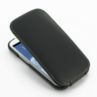 Slim Leather Flip Top Case for Samsung Galaxy S III S3 GT-i9300