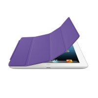 Smart Cover for Apple iPad 2/3/4 (Purple)