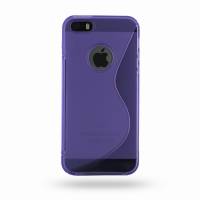 10% OFF + FREE SHIPPING, Buy Best PDair Quality Protective iPhone 5 | iPhone 5s Soft Case (Purple S Shape pattern) online. You also can go to the customizer to create your own stylish leather case if looking for additional colors, patterns and types.