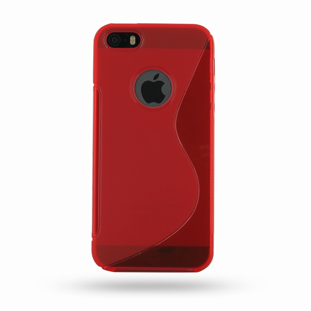 10% OFF + FREE SHIPPING, Buy Best PDair Quality Protective iPhone 5 | iPhone 5s Soft Case (Red S Shape pattern) online. You also can go to the customizer to create your own stylish leather case if looking for additional colors, patterns and types.