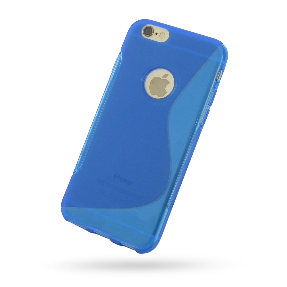 10% OFF + FREE SHIPPING, Buy Best PDair Quality Protective iPhone 6 | iPhone 6s Soft Case (Blue S Shape pattern) online. You also can go to the customizer to create your own stylish leather case if looking for additional colors, patterns and types.