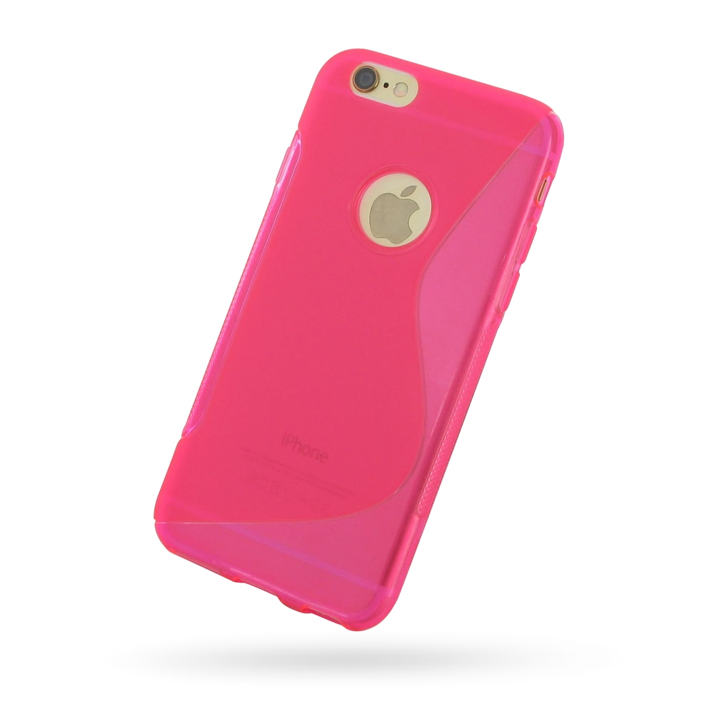 10% OFF + FREE SHIPPING, Buy Best PDair Quality Protective iPhone 6 | iPhone 6s Soft Case (Pink S Shape pattern) online. You also can go to the customizer to create your own stylish leather case if looking for additional colors, patterns and types.