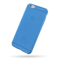 Soft Plastic Case for Apple iPhone 6 Plus | iPhone 6s Plus (Blue)