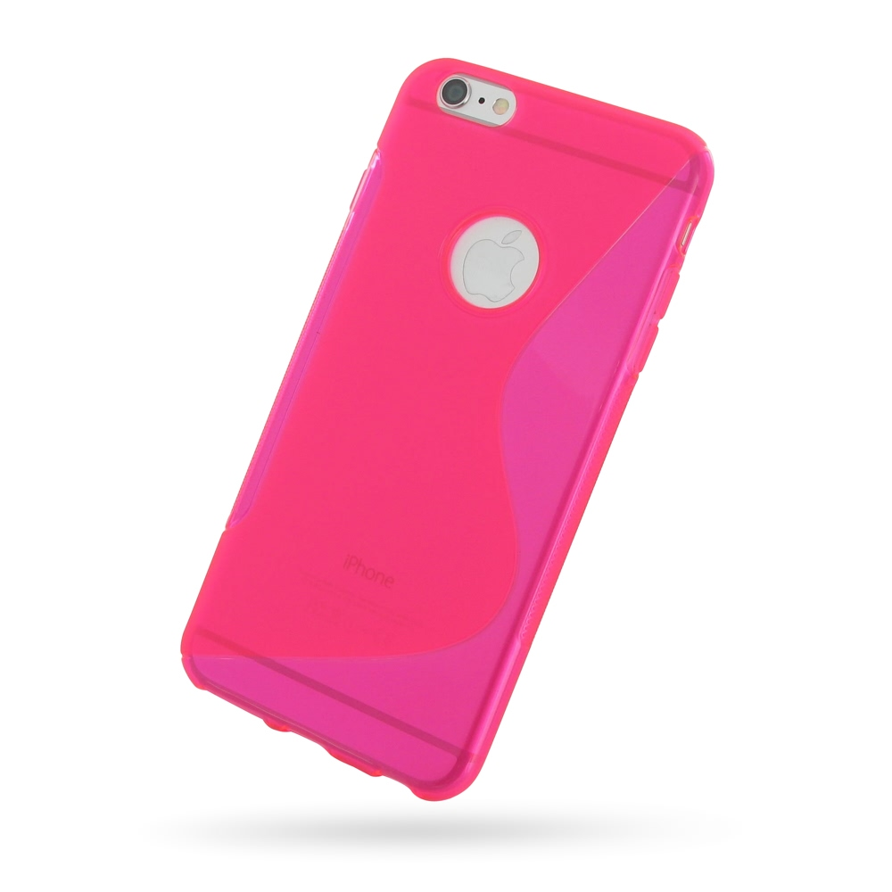 10% OFF + FREE SHIPPING, Buy Best PDair Top Quality Protective iPhone 6 Plus | iPhone 6s Plus Soft Case (Pink S Shape pattern) online. You also can go to the customizer to create your own stylish leather case if looking for additional colors, patterns and