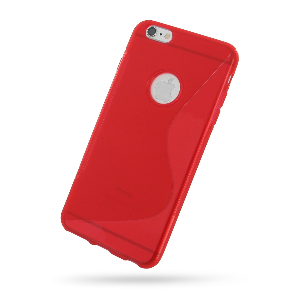 10% OFF + FREE SHIPPING, Buy Best PDair Quality Protective iPhone 6 Plus | iPhone 6s Plus Soft Case (Red S Shape pattern) online. You also can go to the customizer to create your own stylish leather case if looking for additional colors, patterns and type