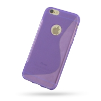 10% OFF + FREE SHIPPING, Buy Best PDair Quality Protective iPhone 6 | iPhone 6s Soft Case (Purple S Shape pattern) online. You also can go to the customizer to create your own stylish leather case if looking for additional colors, patterns and types.