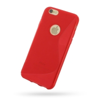 10% OFF + FREE SHIPPING, Buy Best PDair Quality Protective iPhone 6 | iPhone 6s Soft Case (Red S Shape pattern) online. You also can go to the customizer to create your own stylish leather case if looking for additional colors, patterns and types.