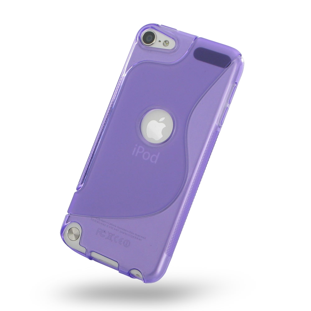 Ipod touch 6 ipod touch 5 soft case purple pdair 10 for Housse ipod touch 5