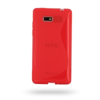 10% OFF + FREE SHIPPING, Buy Best PDair Top Quality Protective HTC Desire 600 Dual Soft Case (Red S Shape pattern) online. You also can go to the customizer to create your own stylish leather case if looking for additional colors, patterns and types.
