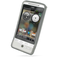 Soft Plastic Case for HTC Hero (Grey)