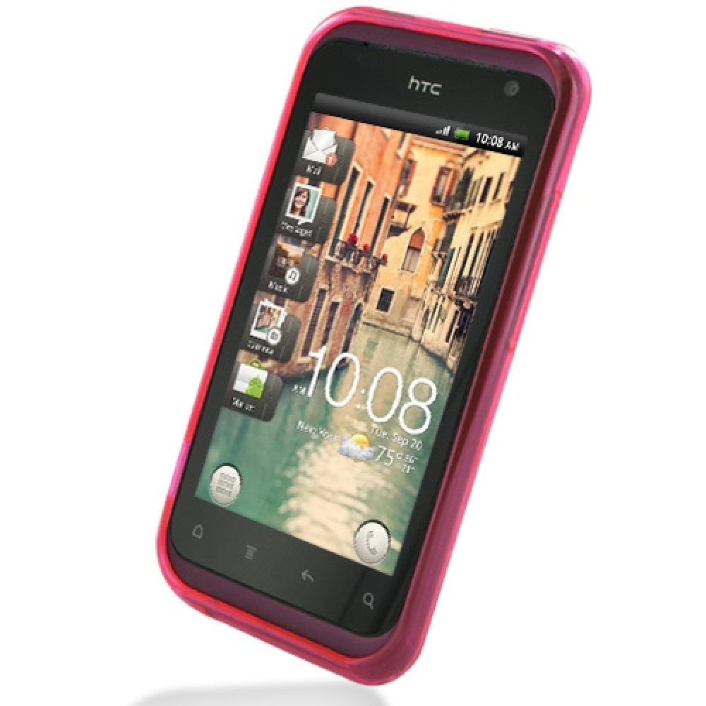 htcbliss_HTCRhymeSoftCase(Pink)::PDair10%OFF+FREESHIPPING