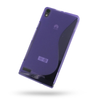 10% OFF + FREE SHIPPING, Buy Best PDair Top Quality Protective Huawei Ascend P6 Soft Case (Purple S Shape pattern) online. You also can go to the customizer to create your own stylish leather case if looking for additional colors, patterns and types.