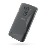 Soft Plastic Case for LG G3 D850 D855 (Grey S Shape Pattern)