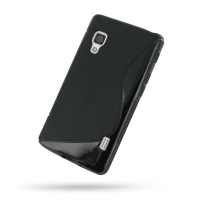 10% OFF + FREE SHIPPING, Buy Best PDair Top Quality Protective LG Optimus L5 II Soft Case (Black S Shape pattern) online. You also can go to the customizer to create your own stylish leather case if looking for additional colors, patterns and types.