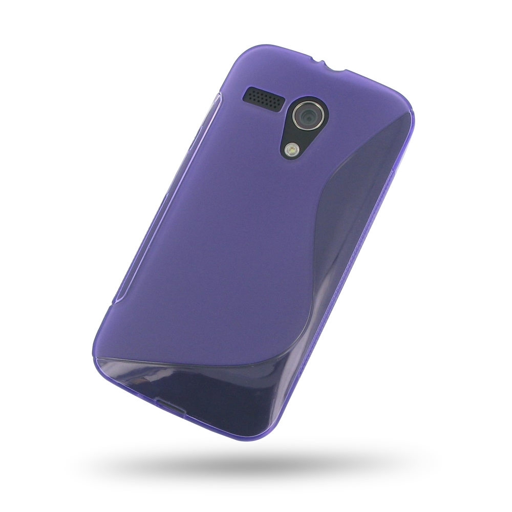 10% OFF + FREE SHIPPING, Buy Best PDair Quality Protective Moto G Soft Case (Purple S Shape pattern) online. You also can go to the customizer to create your own stylish leather case if looking for additional colors, patterns and types.