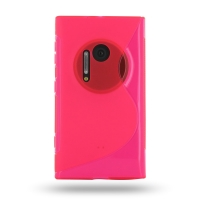 10% OFF + FREE SHIPPING, Buy Best PDair Top Quality Protective Nokia Lumia 1020 Soft Case (Pink S Shape pattern) online. You also can go to the customizer to create your own stylish leather case if looking for additional colors, patterns and types.