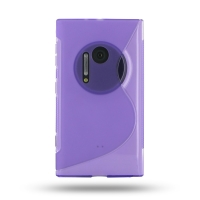 10% OFF + FREE SHIPPING, Buy Best PDair Top Quality Protective Nokia Lumia 1020 Soft Case (Purple S Shape pattern) online. You also can go to the customizer to create your own stylish leather case if looking for additional colors, patterns and types.