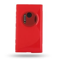 10% OFF + FREE SHIPPING, Buy Best PDair Quality Protective Nokia Lumia 1020 Soft Case (Red S Shape pattern) online. You also can go to the customizer to create your own stylish leather case if looking for additional colors, patterns and types.