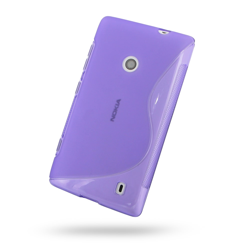 Nokia Lumia 520 Soft Case Purple S Shape Pattern Pdair 10 Off 8gb Red Free Shipping Buy Best Top Quality Protective