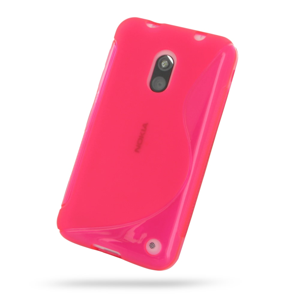 Nokia Lumia 620 Soft Case Pink S Shape Pattern Pdair 10 Off Magenta Free Shipping Buy Best Quality Protective
