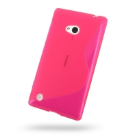 10% OFF + FREE SHIPPING, Buy Best PDair Quality Protective Nokia Lumia 720 Soft Case (Pink S Shape pattern) online. You also can go to the customizer to create your own stylish leather case if looking for additional colors, patterns and types.
