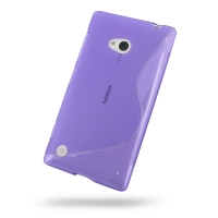 10% OFF + FREE SHIPPING, Buy Best PDair Top Quality Protective Nokia Lumia 720 Soft Case (Purple S Shape pattern) online. You also can go to the customizer to create your own stylish leather case if looking for additional colors, patterns and types.