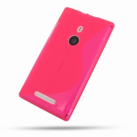 10% OFF + FREE SHIPPING, Buy Best PDair Quality Protective Nokia Lumia 925 Soft Case (Pink S Shape pattern) online. You also can go to the customizer to create your own stylish leather case if looking for additional colors, patterns and types.