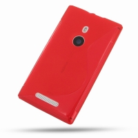 10% OFF + FREE SHIPPING, Buy Best PDair Quality Protective Nokia Lumia 925 Soft Case (Red S Shape pattern) online. You also can go to the customizer to create your own stylish leather case if looking for additional colors, patterns and types.