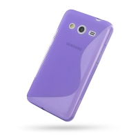 10% OFF + FREE SHIPPING, Buy Best PDair Top Quality Protective Samsung Galaxy Core 2 Soft Case (Purple S Shape pattern) online. You also can go to the customizer to create your own stylish leather case if looking for additional colors, patterns and types.