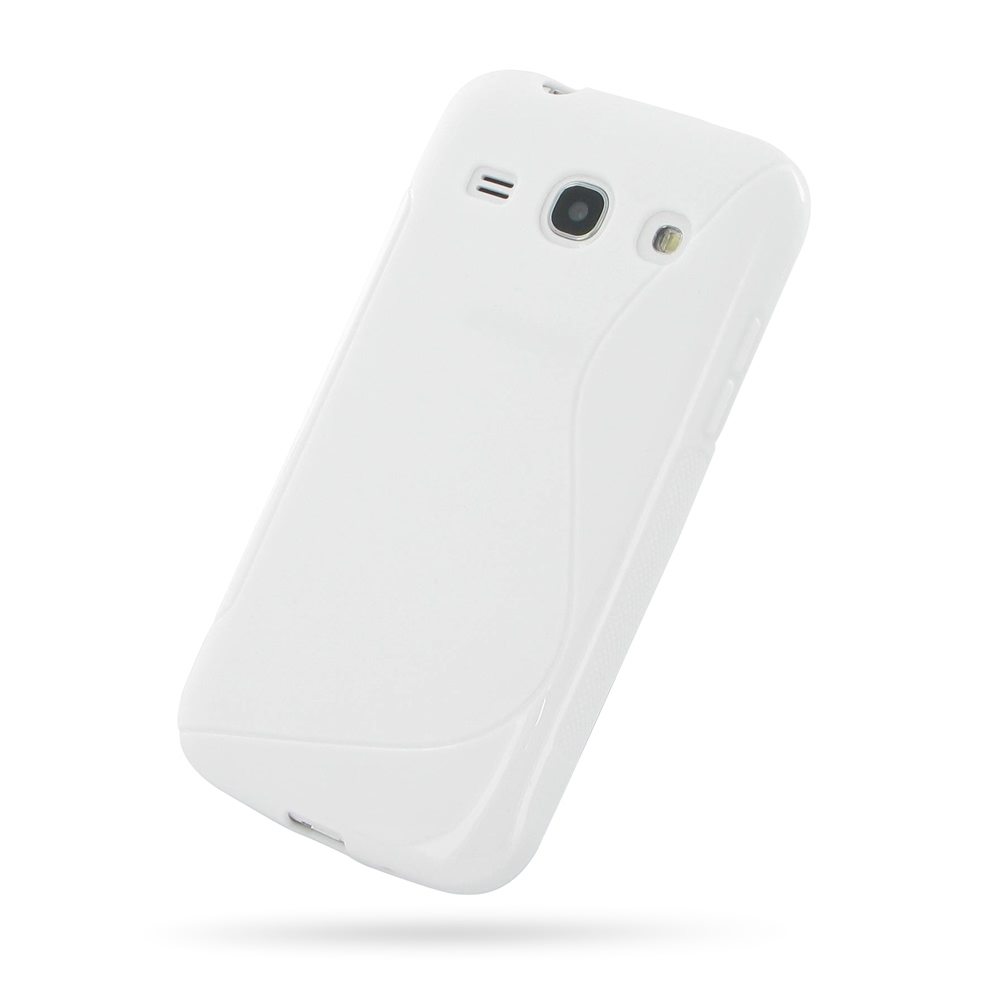 10% OFF + FREE SHIPPING, Buy Best PDair Top Quality Protective Samsung Galaxy Core Plus Soft Case (White S Shape pattern) online. You also can go to the customizer to create your own stylish leather case if looking for additional colors, patterns and type
