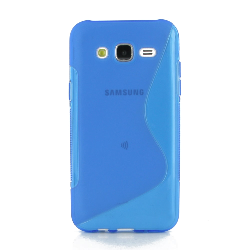 10% OFF + FREE SHIPPING, Buy Best PDair Top Quality Protective Samsung Galaxy J5 Soft Case (Blue S Shape pattern) online. You also can go to the customizer to create your own stylish leather case if looking for additional colors, patterns and types.
