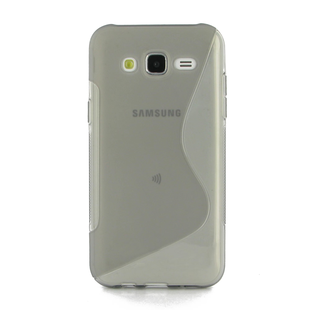 10% OFF + FREE SHIPPING, Buy Best PDair Top Quality Protective Samsung Galaxy J5 Soft Case (Grey S Shape pattern) online. You also can go to the customizer to create your own stylish leather case if looking for additional colors, patterns and types.