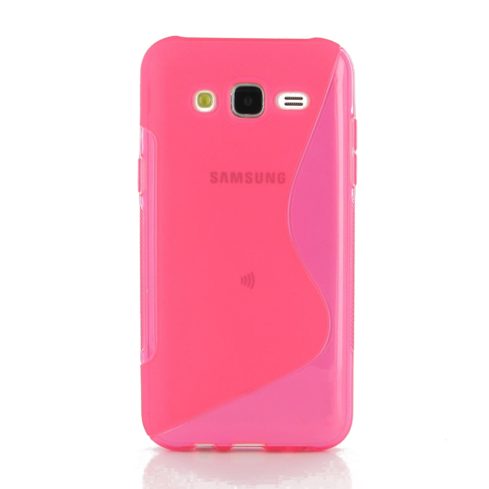 10% OFF + FREE SHIPPING, Buy Best PDair Top Quality Protective Samsung Galaxy J5 Soft Case (Pink S Shape pattern) online. You also can go to the customizer to create your own stylish leather case if looking for additional colors, patterns and types.