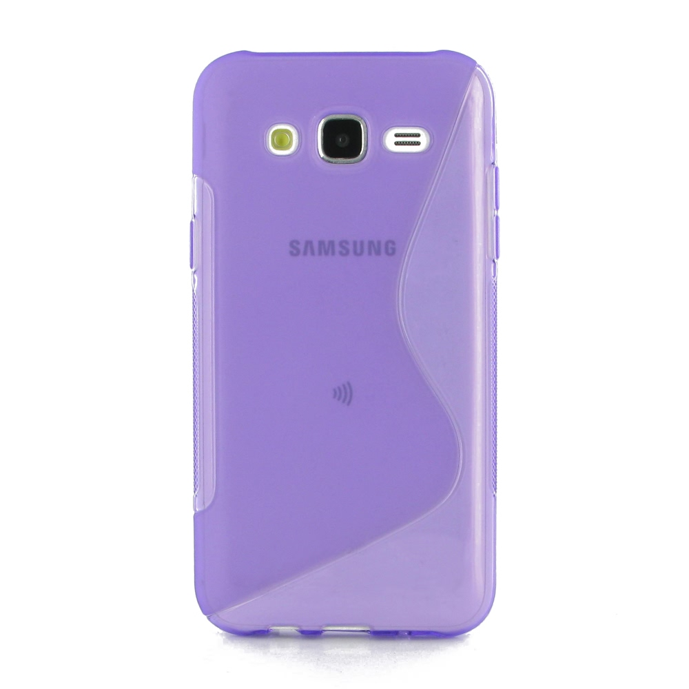 10% OFF + FREE SHIPPING, Buy Best PDair Top Quality Protective Samsung Galaxy J5 Soft Case (Purple S Shape pattern) online. You also can go to the customizer to create your own stylish leather case if looking for additional colors, patterns and types.